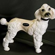 SALE Vintage Coopercraft Standard Poodle from England