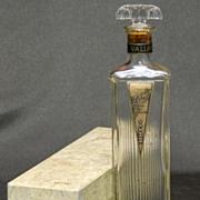 SALE Vallant Perfume Cologne Bottle in Box  - Zanis Scent - 1920s
