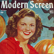 Shirley Temple - Modern Screen Magazine - November 1944 - Includes Judy Garland, Gene Kelly, .