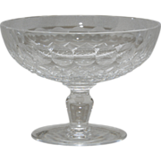 """Waterford Crystal """"Colleen"""" Pattern Compote"""