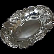 Beautiful Quadruple Plate Art Nouveau Bread Tray by Forbes Silver Co.