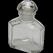 Baccarat Guerlain Quadrilobe Perfume Cologne Bottle
