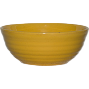 Small Bauer Ringware Cereal Bowl - Chinese Yellow