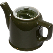 Hall Individual Tea Pot - Army Green - Restaurant Ware