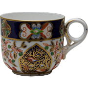 19th Century Royal Crown Derby Coffee Cup - Pattern 198