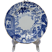 Royal Crown Derby Blue Mikado Bread and Butter Plate - 2 available