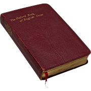 Red Leather Book - The Oxford Book of English Verse, 1250-1900