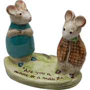 Beswick Figurine by Kitty MacBride - Strained Relations