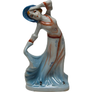 Occupied Japan Art Deco Style Lady Figurine