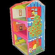 SALE RARE FIND 1968 3-Story Kiddles House Mattel pristine condition