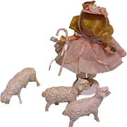 Little Bo Peep has found her sheep Nancy Ann Storybook doll all original with tags