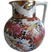REDUCED 1920's Japanese 'Kutani Style' Creamer Pitcher