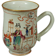 Chinese Export Famille Rose Mug ~ ca. 1750