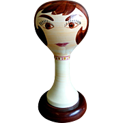 1960's Stangl Wig Stand