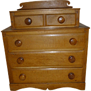 Miniature Pine chest