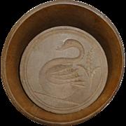 Swan butter mold