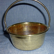 SOLD Miniature preserving pan