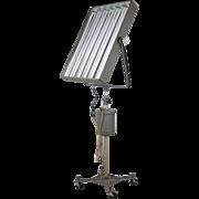 Vintage 1940's Photogenic Industrial Steel Studio Lighting Lamp