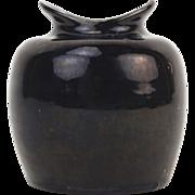 1958 Mid-century Studio Pottery Vase Signed Petersen or Peterson