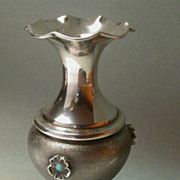 Italian Sterling Silver Bud Vase