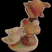 Vintage M.J. Hummel 'Girl with Geese' Figurine Hallmarked