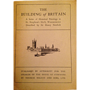 Vintage Pamphlet 'The Building of Britain' published
