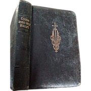 "Leather Bound Pocket Size ""Come into My Heart Prayers and instructions for children"""