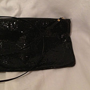 Whiting and Davis rectangular evening bag