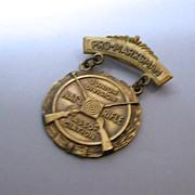 "Vintage NRA ""Pro Marksman"" Jr. Division pin"