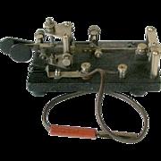 Lionel J-36 Key Morse Code Telegraph Key WWII U.S. Signal Corps Lightning Bug ...