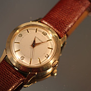 SOLD Classic Wittnauer Men's Watch,  Vintage Swiss