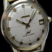 "Longines  ULTRA-CHRON (""High Beat"") Automatic 1960's Men's watch."
