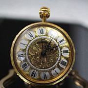 Ernest Borel  Versailles  Travel or Desk Clock.  Pocket Watch Design.