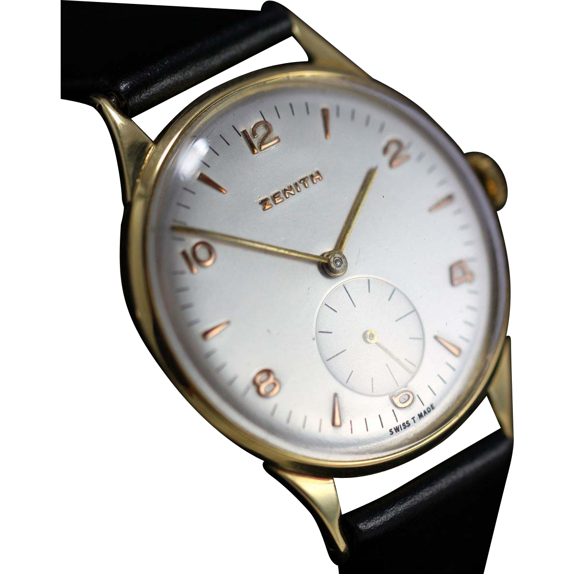 1955 Vintage Zenith 18k Gold Watch From Vintagewatches On