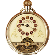 Schild & Cie Hebdomas Pocket Watch Circa 1916 to 1920