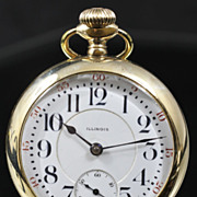Illinois Railroad Grade Size 18 Pocket Watch from  1915