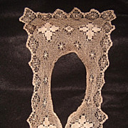SOLD Victorian Lace Fichu Collar - Red Tag Sale Item