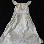 REDUCED Antique Child's Dress Circa 1830-40s