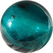 Rare Sandwich Glass Cover Ball 1825-1850s