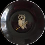 Couroc Bakelite Plastic Bowl Mid Century - Owl