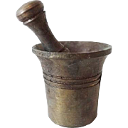 Old Doll House Miniature Mortar and Pestle