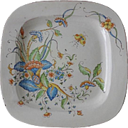 Old Moustiers Platter - Large Hand Painted