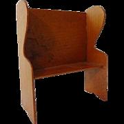 Dollhouse Shaker Bench by Chestnut Hill Studio