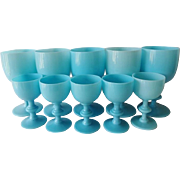 Portieux Vallerysthal Goblets and Wine Glasses - Set