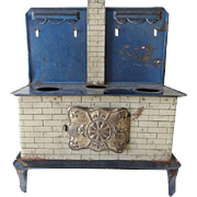 Old Toy Tin Cook Stove