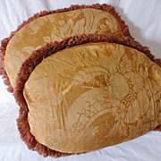 SALE Old Fortuny Pillows - Circa 1920s