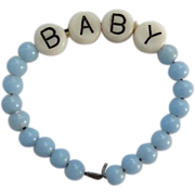 SOLD Vintage Layette Bracelet for Dy Dee or Dy-Dee Baby or Tiny Tears Doll