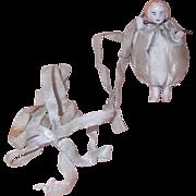 Frozen Charlotte Bridal Shower Tiny German Bisque Doll