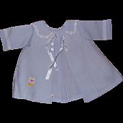 Rare Tiny Tears Doll Teddy Bear Coat & Bonnet Set