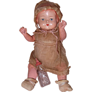 Factory Original German Baby type Composition Doll